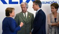 Con Macri como presidente, la posición de Argentina sobre el acuerdo cambió. Foto: AFP