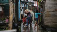 En Nicaragua también esperaban un huracán. Foto: AFP