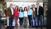 Rodrigo Barcelona, Victoria Lafluf, KarinaMontiel, Anat Rausky, Sandra Marcos, Ciro Ferreira y Federico Eguren
