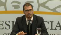 Juan Andrés Roballo. Foto: captura Presidencia de la República