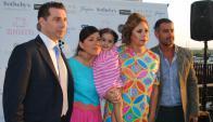 Carminne Dodero, Olympia Perazzo, Agatha Ruiz de la Prada, Fernando de Nuñez.