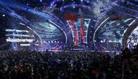En Las Vegas. la música en español celebró su gran encuentro anual. Foto: Reuters