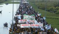 Los ambientalistas dicen que Uruguay y Argentina actúan con secretismo. Foto: Archivo EL País