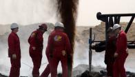 Si se dan las condiciones, el primer barril uruguayo se extraería en 2023. Foto: archivo El País