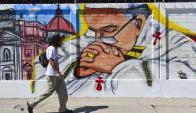 México se prepara para la visita del papa Francisco. Foto: AFP