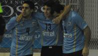 Triunfo. Uruguay venció por 3-1 a Costa Rica en el segundo amistoso del fin de semana. Foto: Ariel Colmegna