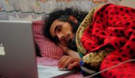 Jihad Diyab inició una huelga de hambre hace 20 días. Foto: AFP