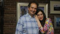 Jorge y Danna Liberman: él contador de números, ella contadora de... historias.