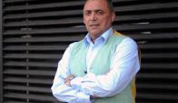 """A Carlos Aguilera a sus 52 años le gustaría ser un """"consejero"""". Foto: Fernando Ponzetto"""