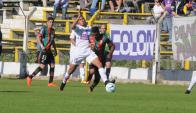 Defensor venció a Rampla 1-0 en la última jugada. Foto: Francisco Flores