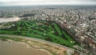"""El Club de Golf se llama """" Parque de las instrucciones del año XIII"""". Foto: archivo El País"""