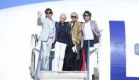 Los Rolling Stones en Uruguay. Foto: F. Ponzetto