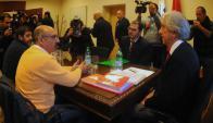El presidente responderá por escrito mañana los pedidos del Pit. Foto: Fernando Ponzetto