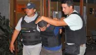 Paysandú: Omar Peralta luego de ser procesado por la Justicia. Foto: El Telégrafo