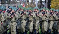 Militares y retirados son contrarios a los proyectos. Foto: Fernando Ponzetto
