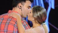 Federico Hoppe y Laura Fernández en ShowMatch