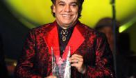 Premiado: fue uno de los cantantes más premiados de su país. Foto: Reuters