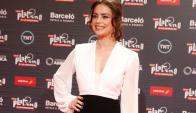 Dolores Fonzi, premiada en Punta del Este. Foto: EFE