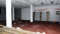 Demolición de la sede de ACSA. Foto. D. Borrelli