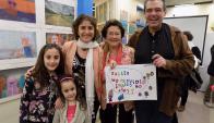 Aline y Michelle Drachman, Rosina Rubio, Beatriz Magliati, Pablo Salgueiro.