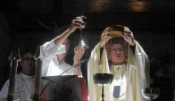 Una fiesta que celebró la vida con misa y bendición. Foto: A. Colmegna