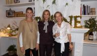 Sol Campos, Beatriz Argimon, Rose Galfione.