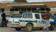Policía investiga intensamente para dar con el paradero de los sicarios. Foto: archivo El País