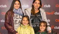 Katerin y Valentina Cardozo, Mia y Abril Nuñez.