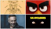 Los Piojos, Angry Birds, Alejandro Lerner y Die Antwoord