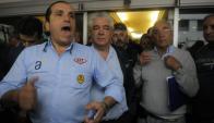 La Patronal del Taxi sigue dando pelea y ayer se reunió con Martínez. Foto: A. Colmegna