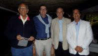 Jorge Batlle, Pedro Bordaberry, Carlos Steneri, Luis Lacalle Pou.