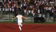 Emiliano Alfaro anotó un doblete en India. Foto: Indian Super League