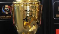 Trofeo de la Copa América Centenario. Foto: Francisco Flores
