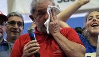 Lula Da Silva enfrenta duros cagos de la Fiscalía por caso en torno a Petrobras. Foto: AFP