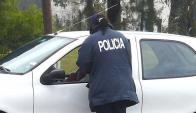 Otros vehículos escucharon los gritos de auxilio de la mujer. Foto: R. Figueredo