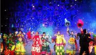 La Gran Muñeca, espectáculo 2015. Foto: redes sociales.