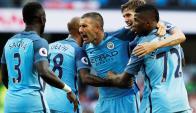 Manchester City arrancó con victoria en la Premier. Foto: Reuters.