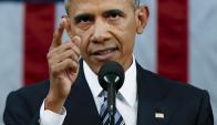 Barack Obama y su último discurso en el Congreso como Presidente. Foto: Reuters
