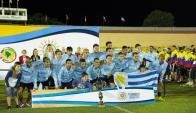 Uruguay campeón de la Copa América de fútbol unificado de Olimpíadas Especiales. Foto: specialolympics.org