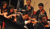 Orquesta Sinfónica del Sodre. Foto: Sodre