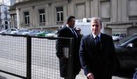 Jorge Barrera dijo que su cliente tiene pruebas que lo desvinculan. Foto: F. Ponzetto
