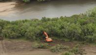 Productores canarios exigen controlar basural en arroyo Pando. Foto: MVOTMA
