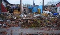 La Intendencia de Soriano espera terminar hoy el relevamiento de viviendas. Foto: F. Ponzetto