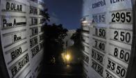 El dólar a casi $ 30 en pizarras quedó atrás. Foto: F. Ponzetto