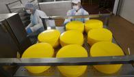 Quesos: China es el séptimo importador mundial del producto. Foto: Reuters