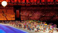 Colorida. La ceremonia inaugural de los Juegos Paralímpicos se realizó en el Maracná. Foto: Reuters
