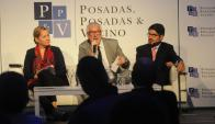Expertos: una charla con diferentes puntos de vista. Foto: archivo El País