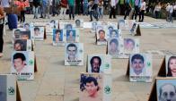 Recuerdo a las víctimas de la guerrilla. Foto: Reuters