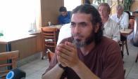 Diyab hizo huelga de hambre en Guantánamo y reclamó ver a su familia. Foto: V. Molnar