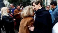 Isabel Allende en el homenaje a su padre. Foto: EFE.